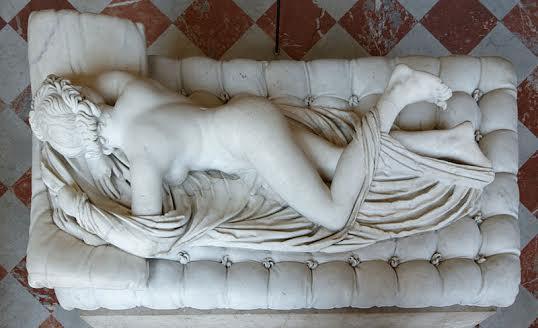 1619, G.L.Bernini - Ermafrodito dormiente