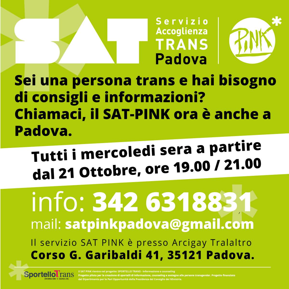 SAT PINK Sat Pink Padova