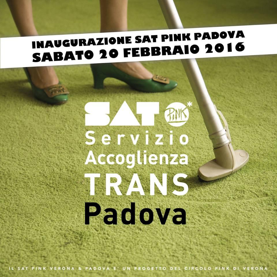 Sat Pink Padova – Inaugurazione