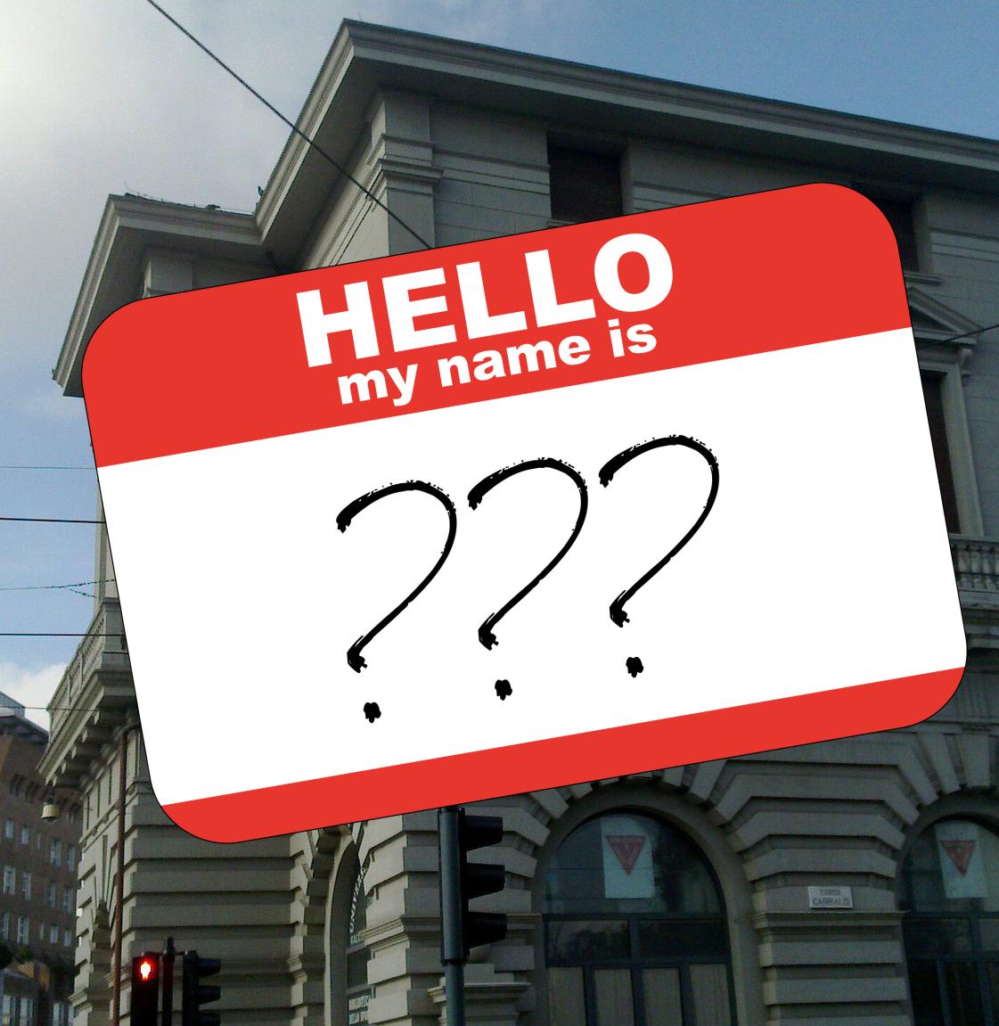 Annuncio ufficiale del nuovo nome del gruppo giovani!