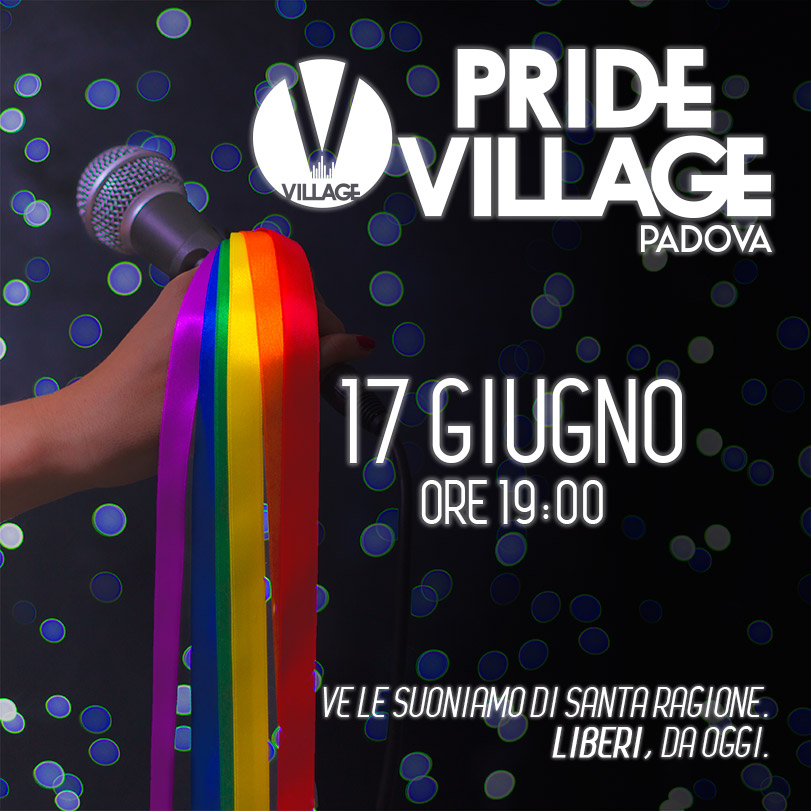 Padova Pride Village 2016 – Vuoi aiutarci come volontario/a?