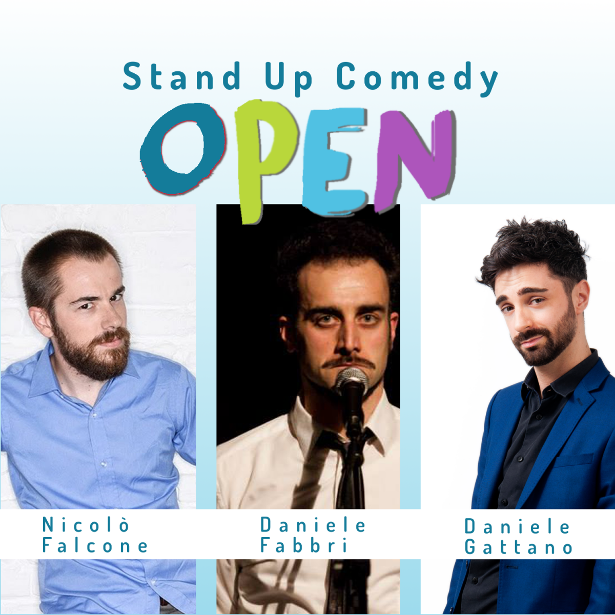 OPEN Stand Up Comedy – 21 maggio ore 17