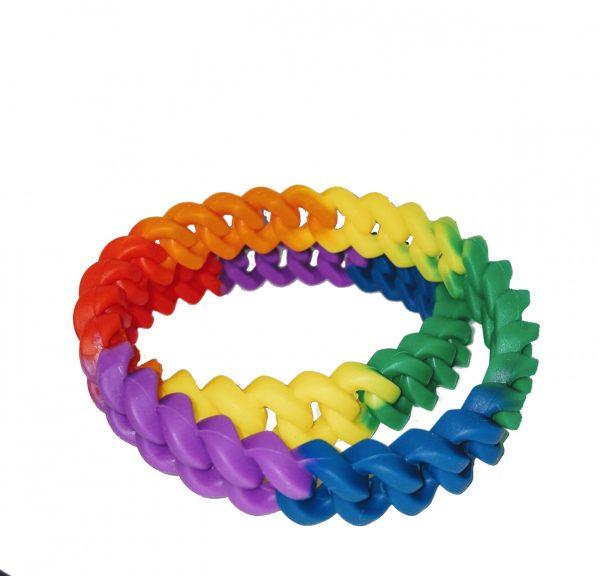 braccialetti arcobaleno