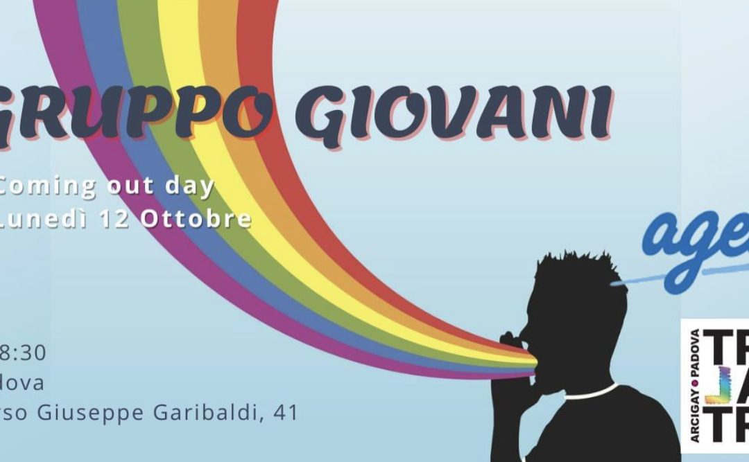 Gruppo Giovani – Coming out day!